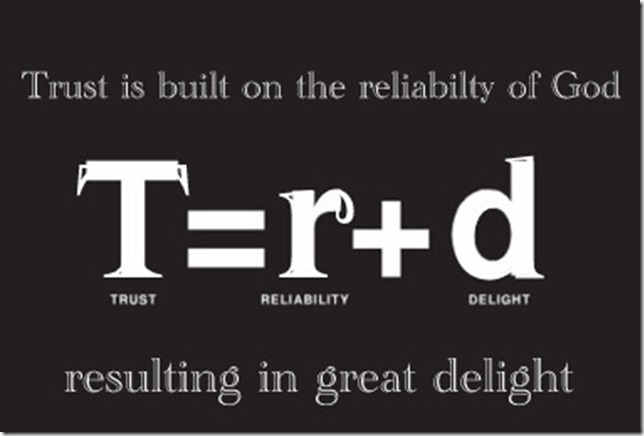 trust_equals_reliability_plus_delight